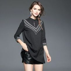 Ozipan - Stripe Dotted Tunic