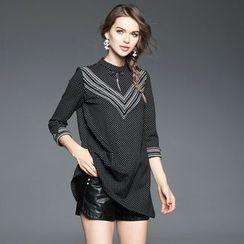 歐依潮派 - 條紋點點裙衣