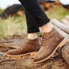 MARTUCCI - 繫帶恰克靴