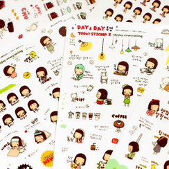 Homey House - Set of 6 Sheets: Stickers