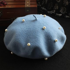 EVEN - Faux Pearl Beret