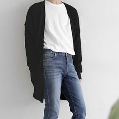 Seoul Homme - Loose-Fit Long Cardigan