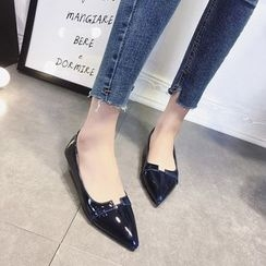 SouthBay Shoes - Patent Pointy Flats