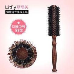 Litfly - Boar Bristle Round Hair Brush