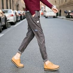 Harvin - Applique Tapered Pants