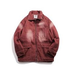 Milioner - Washed Padded Denim Jacket