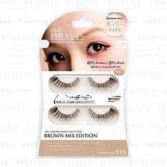 D-up - Eyelashes Brown Mix (#915 Girlie Eyes)