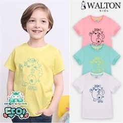 WALTON kids - Kids Round-Neck Printed T-Shirt