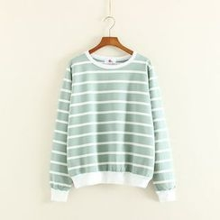 Mushi - Striped Pullover