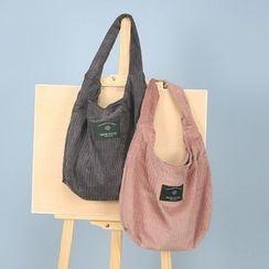 BagTown - Corduroy Shoulder Bag