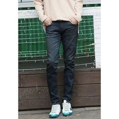 PLAYS - Washed Straight-Cut Jeans