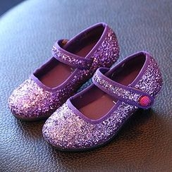 Luco - Kids Glitter Mary Jane Pumps