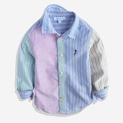 Happy Go Lucky - Kids Striped Shirt