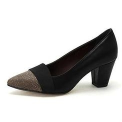 MODELSIS - Python Genuine Leather Pumps