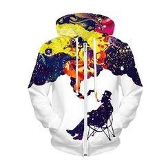 Omifa - Printed Hoodie