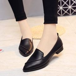 Sleeko - Stitched Pointy Flats