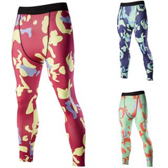 Hansel - Camouflage Print Sports Leggings