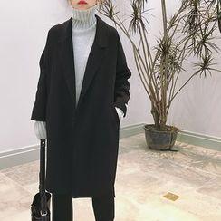 Eva Fashion - Woolen Long Coat