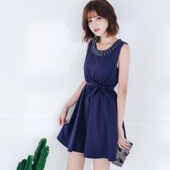 Tokyo Fashion - Sleeveless Beaded Dress