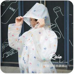 Momoi - Printed Raincoat