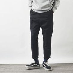 Mr.C studio - Color Block Straight Fit Pants