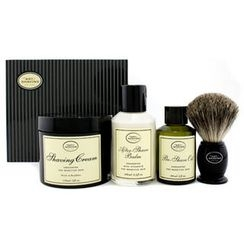 The Art Of Shaving - The 4 Elements Of The Perfect Shave - Unscented (Pre Shave Oil + Shave Crm + A/S Balm + Brush)