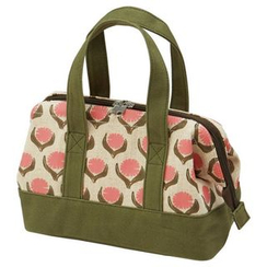 Skater - Lotta Jansdotter Cotton Linen Lunch Bag