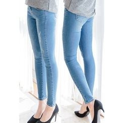 REDOPIN - Distressed Skinny Jeans