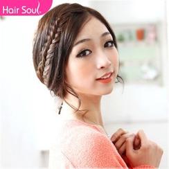 hairsoul - 编织接发片