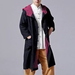 Sparrow Farm - Linen Cotton Hooded Coat