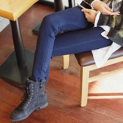 REDOPIN - Brushed-Fleece Skinny Jeans