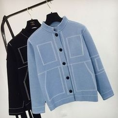 Apalili - 拼接針織外套