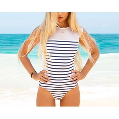 Dream a Dream - Striped Swimsuit