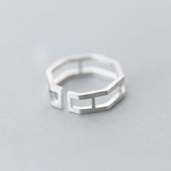 A'ROCH - 925 Sterling Silver Layered Ring