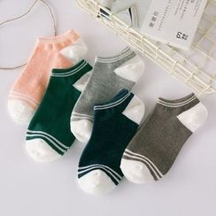TAAK - Contrast-Stripe Socks