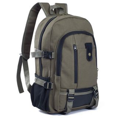Auree - Canvas Zip Backpack