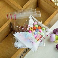Ivyknoll - 蕾絲印花烘焙用包裝袋套裝(100件)