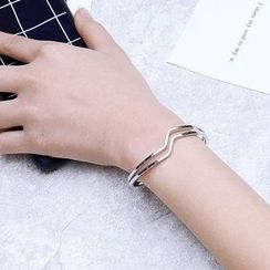Momo Town - Double Layer Bangle