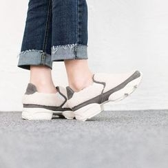 VIVIER - Faux-Fur Platform Slip-Ons