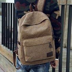 StandBO - Zip Canvas Backpack