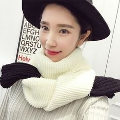 Rita Zita - Color Block Knit Scarf