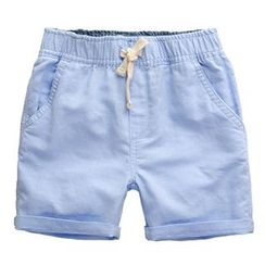 Kido - 小童纯色短裤