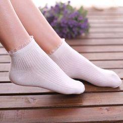 NECTARY - Mesh Trim Socks