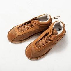 Ashen - 高幫拼貼休閑鞋