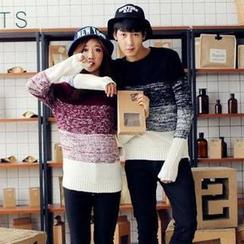 Evolu - Gradient Couple Sweater
