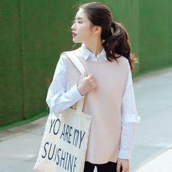 Forest Girl - Knit Vest
