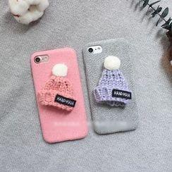 Hachi - Beanie Applique Phone Case - Apple iPhone 6 / 6 Plus / 7 / 7 Plus