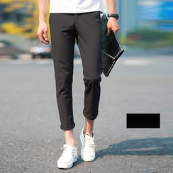Jazzcool - Cropped Slim Fit Pants
