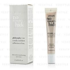 Philosophy - No Reason To Hide Dark Circle Transforming Eye Cream