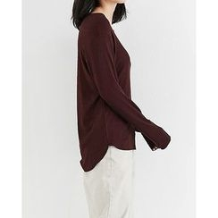 Someday, if - Round-Neck Long-Sleeve T-Shirt